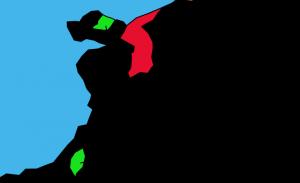 下関条約(遼東半島・台湾の位置)画像